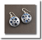 Glimpses of a Night Sky Earrings canvas