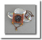 Victorian Scroll Pendant glass